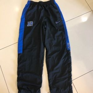 Nike Men's Small Duke Warmup Pants